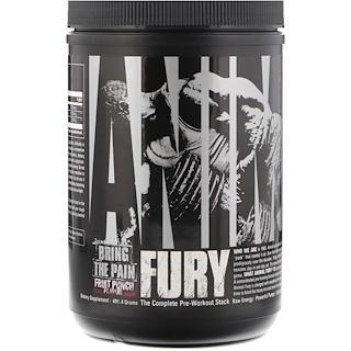 Universal Nutrition, Animal Fury، بنش الفاكهة، 491.4 غرام