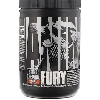 Universal Nutrition, Animal Fury, Orange, 512.1 g