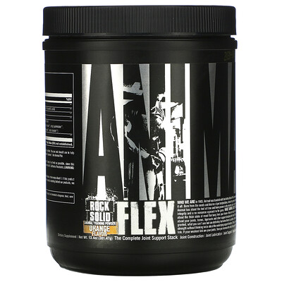 Купить Universal Nutrition Animal Flex, порошок для поддержки суставов, со вкусом апельсина, (381, 47г)