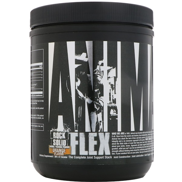 Universal Nutrition, Animal Flex Powder, Orange, 381.47 g