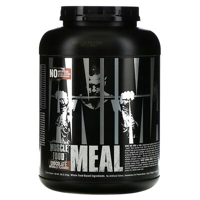Universal Nutrition Animal Meal, шоколад, 2,27кг (5фунтов)