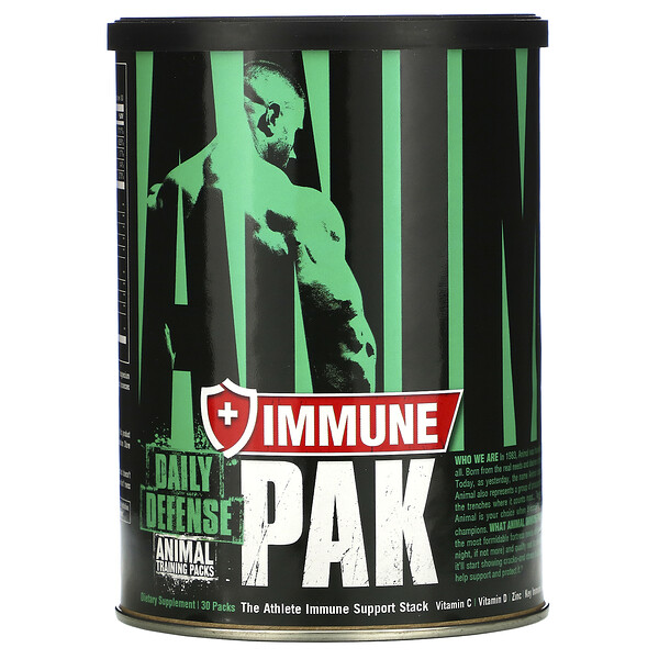 Universal Nutrition, Animal Immune Pak, Daily Defense, Training Packs, 30 Packs