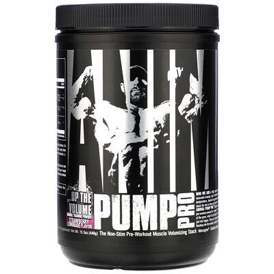 Купить Universal Nutrition Animal Pump Pro, Non-Stim Pre-Workout, Strawberry Lemonade, 15.5 oz (440 g)
