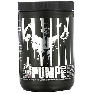 Universal Nutrition Animal Pump Pro, Non-Stim Pre-Workout, Strawberry Lemonade, 15.5 oz (440 g)