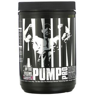 Universal Nutrition, Animal Pump Pro, предтренировочный комплекс без стимуляторов, клубничный лимонад, 440г (15,5унции)