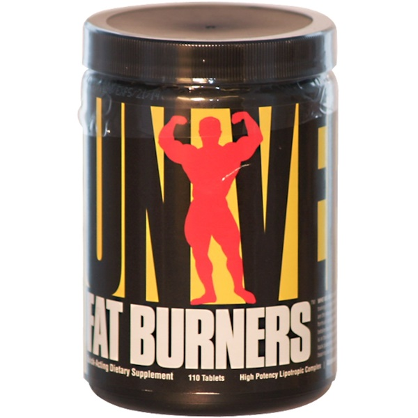 Universal Nutrition, Fat Burners, High Potency Lipotropic Complex, 110 Tablets (Discontinued Item)