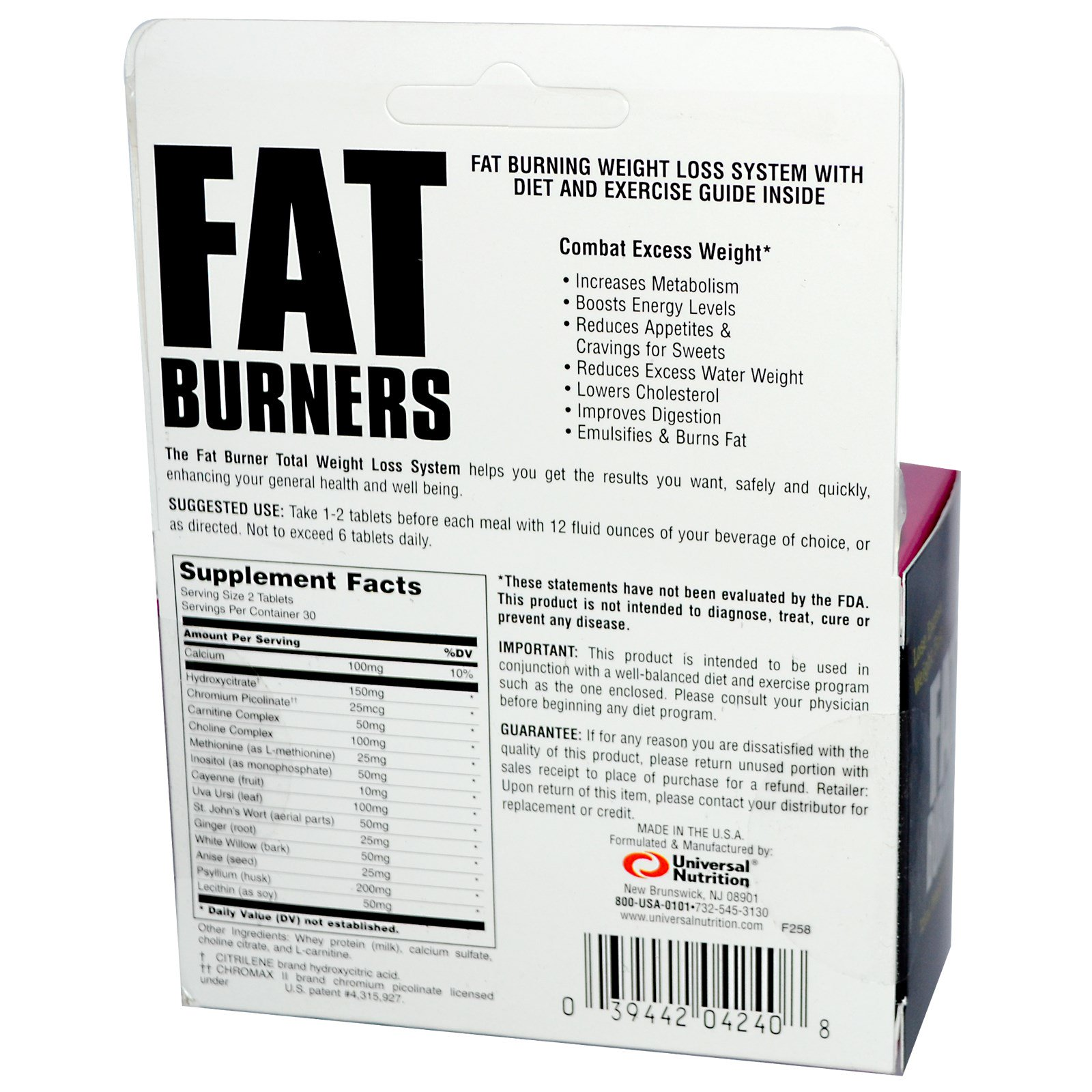 universal fat burner review indonezia)