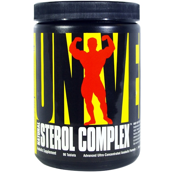 Universal Nutrition, Natural Sterol Complex, Anabolic Sterol Supplement, 90 Tablets