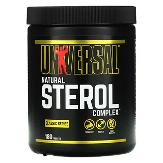 Universal Nutrition, Classic Series, Natural Sterol Complex, 180 Tablets