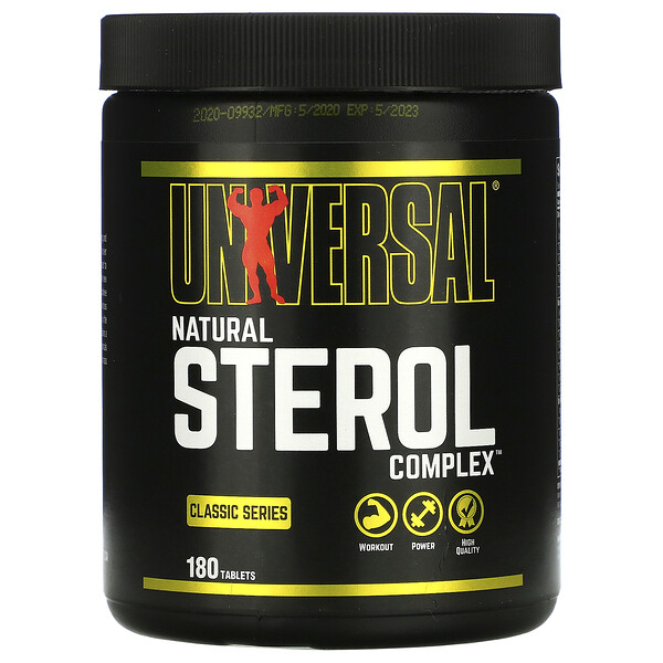 Natural Sterol Complex, Anabolic Sterol Supplement, 180 Tablets