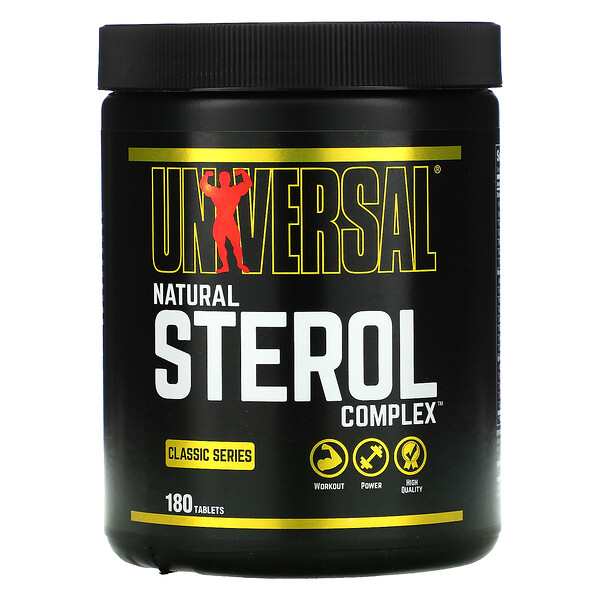 Classic Series, Natural Sterol Complex, 180 Tablets
