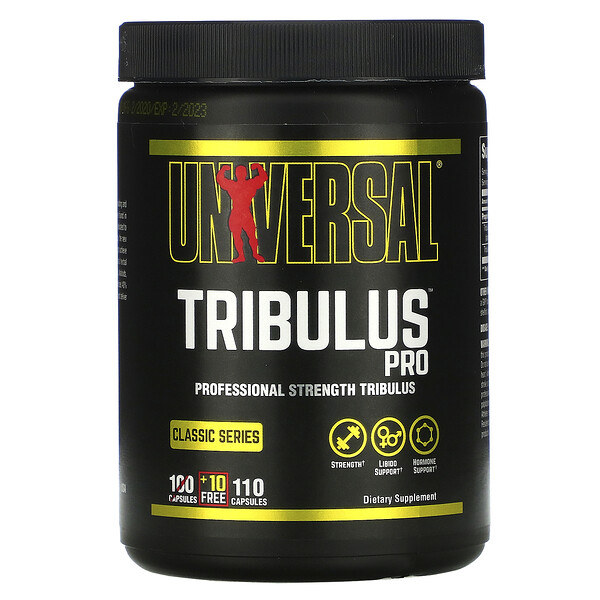 Tribulus Pro, Standardized Tribulus Terrestris Extract, 100 Capsules