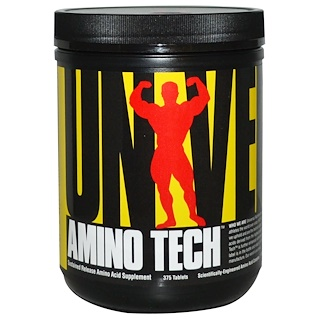 Universal Nutrition, アミノテック, 375錠