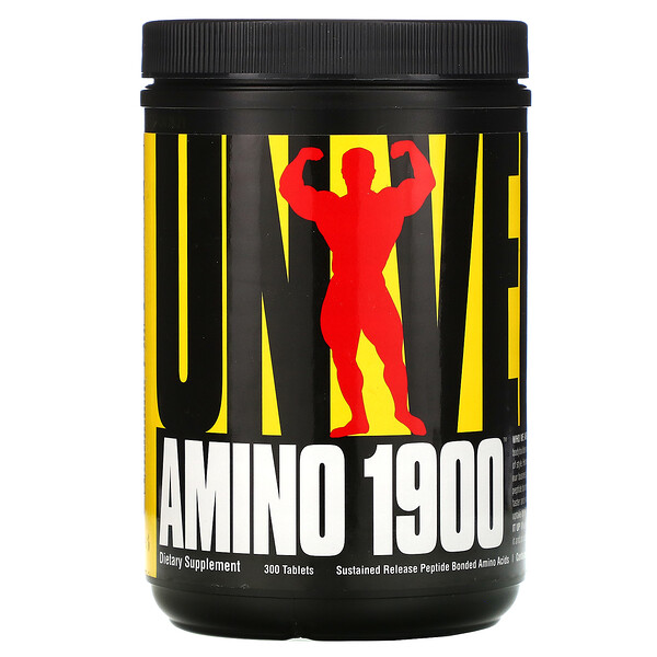 Universal Nutrition, Amino 1900, 300 Tablets