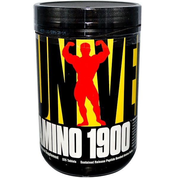 Universal Nutrition, Amino 1900, Amino Acid Supplement, 325 Tablets (Discontinued Item)