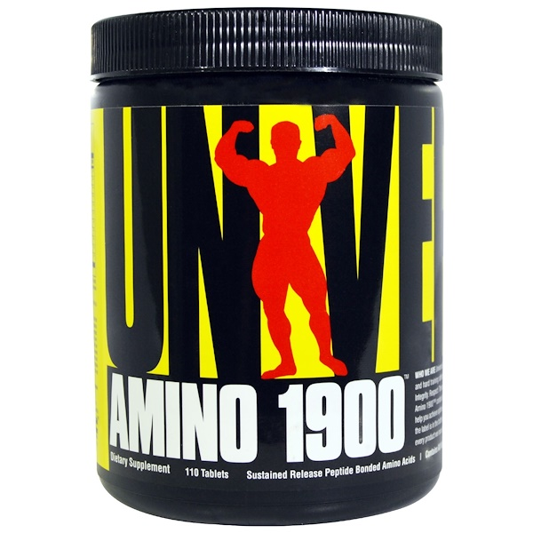 Universal Nutrition, Amino 1900, 110 Tablets (Discontinued Item)