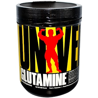 Universal Nutrition, Glutamine, Recovery Supplement, 600 g