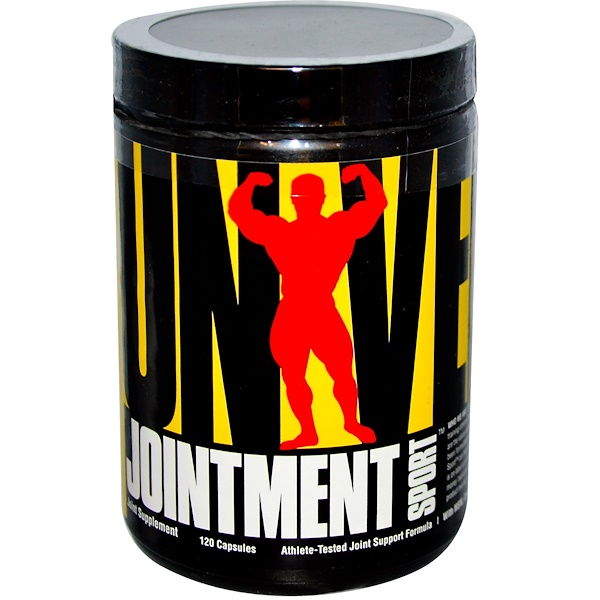 Universal Nutrition, Jointment Sport, Athlete-Tested Joint Formula, 120 Capsules (Discontinued Item)
