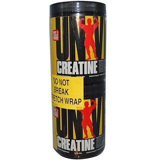 Universal Nutrition, Creatine, 2 Bottles, 200 g Each