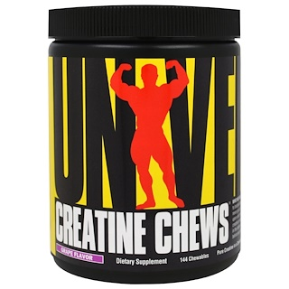 Universal Nutrition, Creatine Chews, Grape Flavor, 144 Chewables