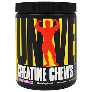 Юниверсал Нутришэн, Creatine Chews, Grape Flavor, 144 Chewables отзывы