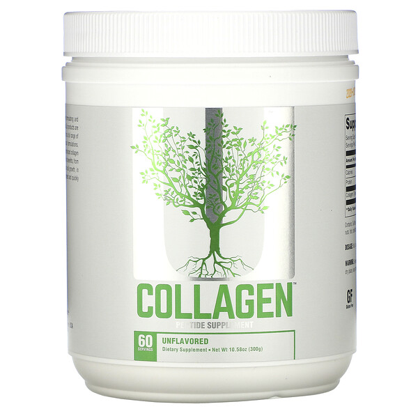 Collagen, Unflavored, 10.6 oz (300 g)