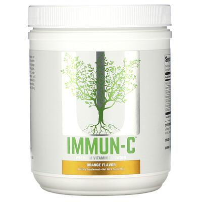 Universal Nutrition Immun-C, Premium Vitamin C Powder, Orange Flavor, 9.5 oz (271 g)