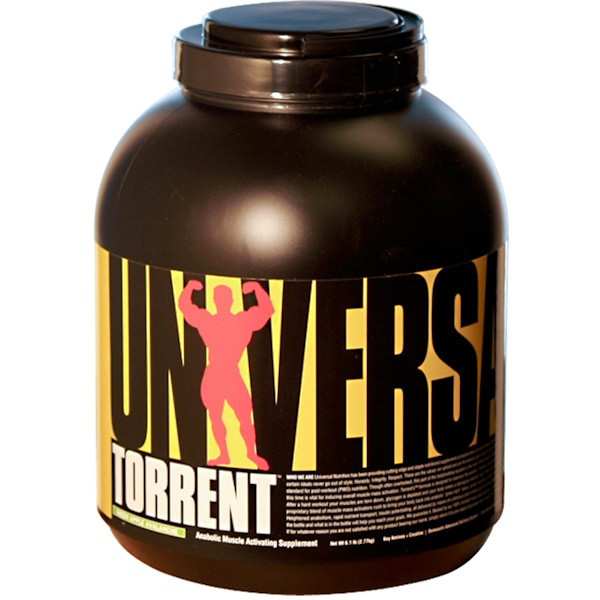 Universal Nutrition, Torrent, Anabolic Muscle Activating Supplement, Green Apple Avalanche, 6.1 lbs (2.77 kg) (Discontinued Item)