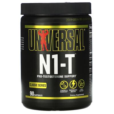 Купить Universal Nutrition Classic Series, N1-T, Pro-Testosterone Support, 90 Capsules