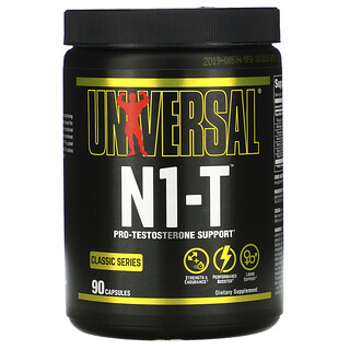 Universal Nutrition, Classic Series, N1-T, Pro-Testosterone Support, 90 Capsules