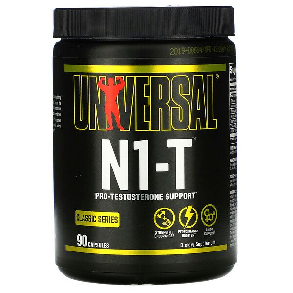 N1-T, Pro-Testosterone Support, 90 Capsules