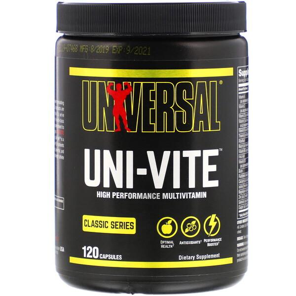 Universal Nutrition, Uni-Vite, 120 Capsules