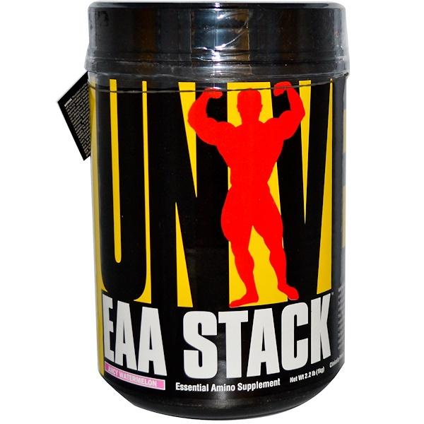 Universal Nutrition, EAA Stack, Essential Amino Supplement, Juicy Watermelon, 2.2 lb (1 kg) (Discontinued Item)