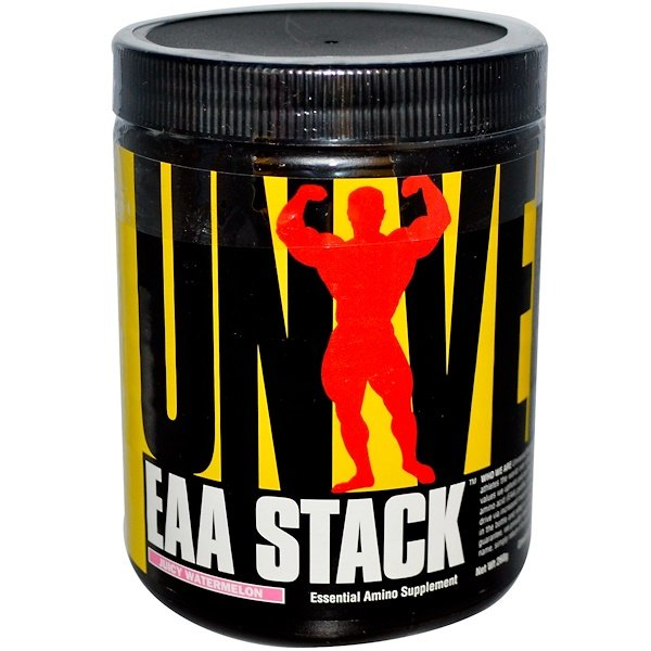 Universal Nutrition, EAA Stack, Essential Amino Supplement, Juicy Watermelon, 260 g (Discontinued Item)