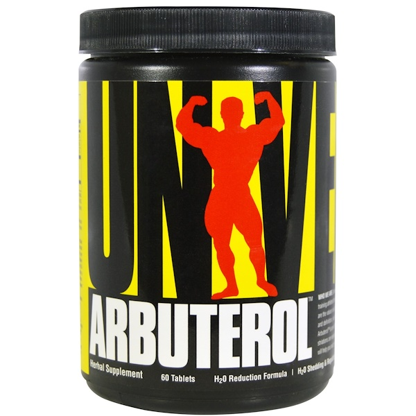 Universal Nutrition, Arbuterol, 60 Tablets (Discontinued Item)