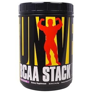 Юниверсал Нутришэн, BCAA Stack, Grape Splash, 2.2 lb (1 kg) отзывы