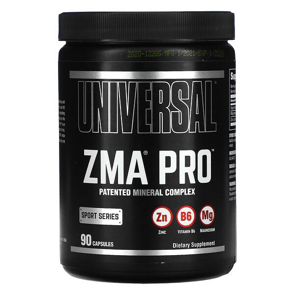 ZMA プロ、ホルモンサポートサプリメント、カプセル90錠
