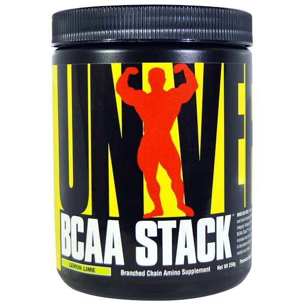 Universal Nutrition, BCAA Stack, Lemon Lime, 250 g (Discontinued Item)