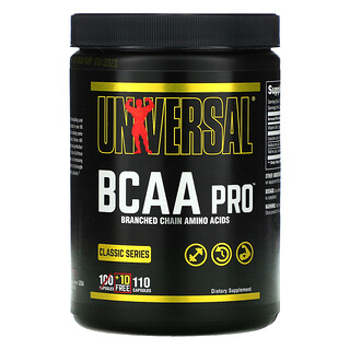Universal Nutrition, Classic Series, BCAA Pro, 110 Capsules