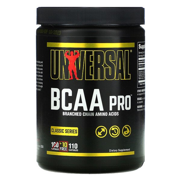 Universal Nutrition, BCAA Pro, Classic Series, 110 Capsules