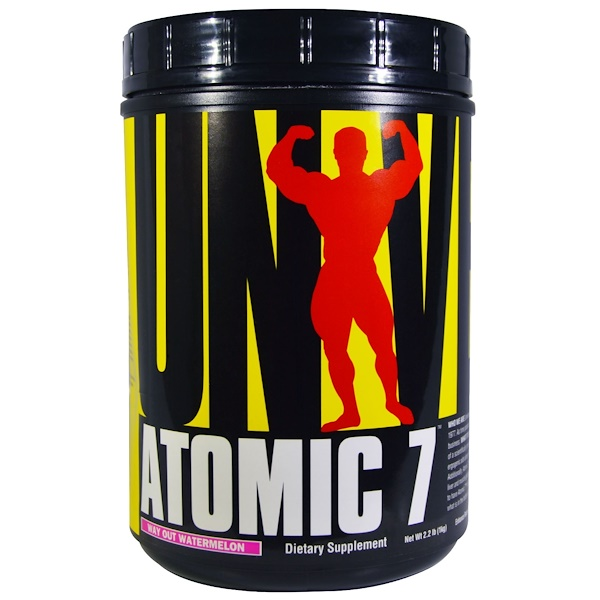 Universal Nutrition, Atomic 7, Way Out Watermelon, 2.2 lb (1 kg) (Discontinued Item)