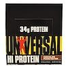 Universal Nutrition, بارات HiProtein، زبدة شوكولاته الفول السوداني، 16 بار، 3 أونصة (85 غرام) في كل واحدة