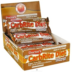 Universal Nutrition, Doctor's CarbRite Diet, Chocolate Caramel Nut, 12 Bars, 2.0 oz (56.7 g) Each