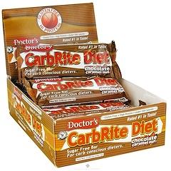 Universal Nutrition, Doctor's CarbRite Diet, Chocolate Caramel Nut, 12 Bars, 2.0 oz (56.7 g) Each