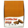 Universal Nutrition, CarbRite Diet, батончики, шоколад и арахисовая паста, 12батончиков по 56,7г (2унции)