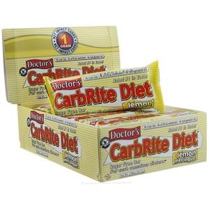 Юниверсал Нутришэн, Doctor's CarbRite Diet Bar, Sugar-Free, Lemon Meringue, 12 Bars, 2 oz (56.7 g) Each отзывы покупателей
