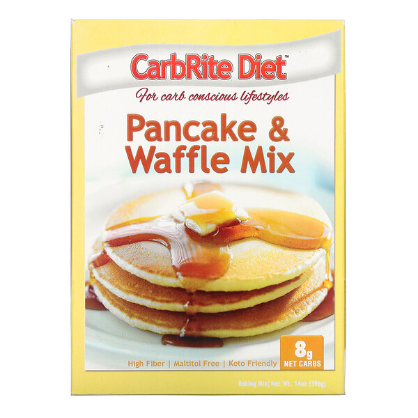 Universal Nutrition, CarbRite Diet, Pancake & Waffle Mix , 14 oz (396 g) (Discontinued Item)