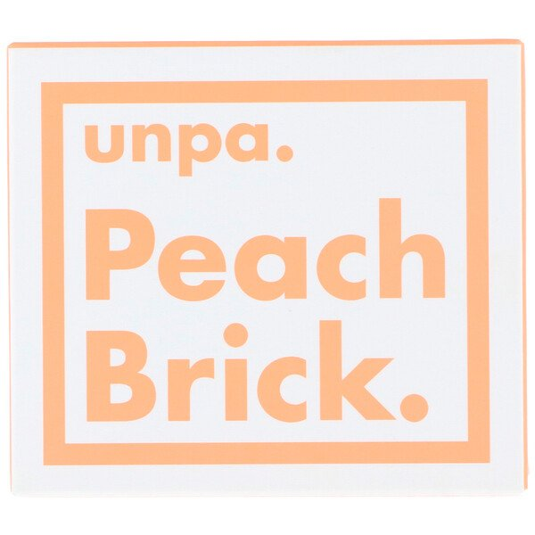 Peach Brick, Tone-up Soap, 120 g