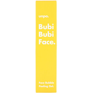 Unpa., Bubi Bubi Face, Face Bubble Peeling Gel, 50 ml