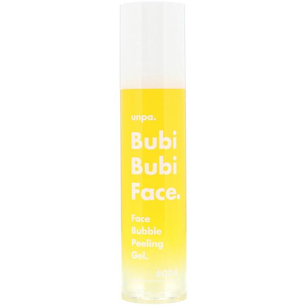 Unpa., Bubi Bubi Face, Face Bubble Peeling Gel, 50 ml (Discontinued Item)
